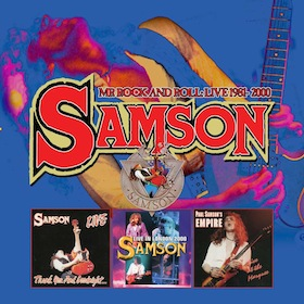 Samson - Mr Rock And Roll: Live 1981-2000 (2017)