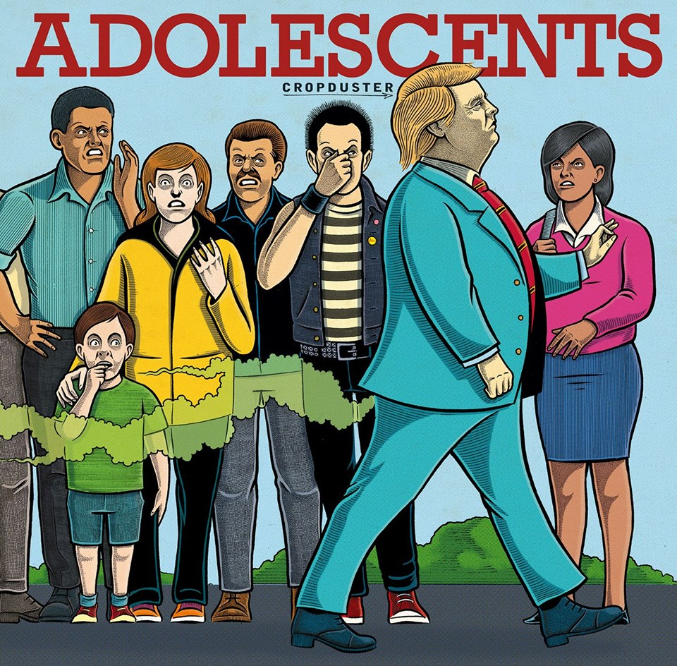 Adolescents - The Cropduster (2018)