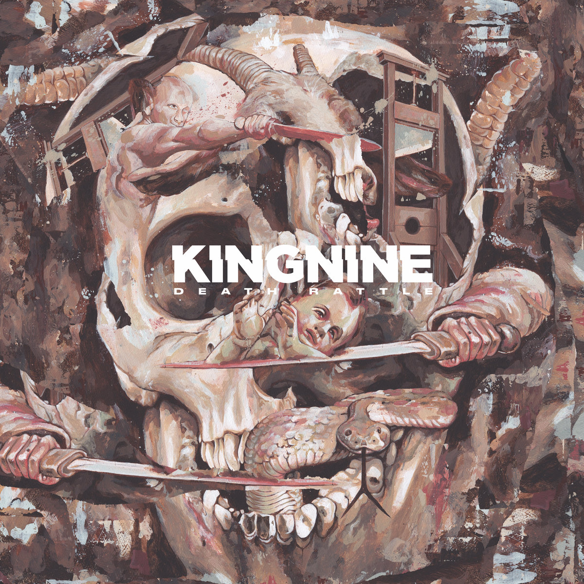 King Nine - Death Rattle (2018)